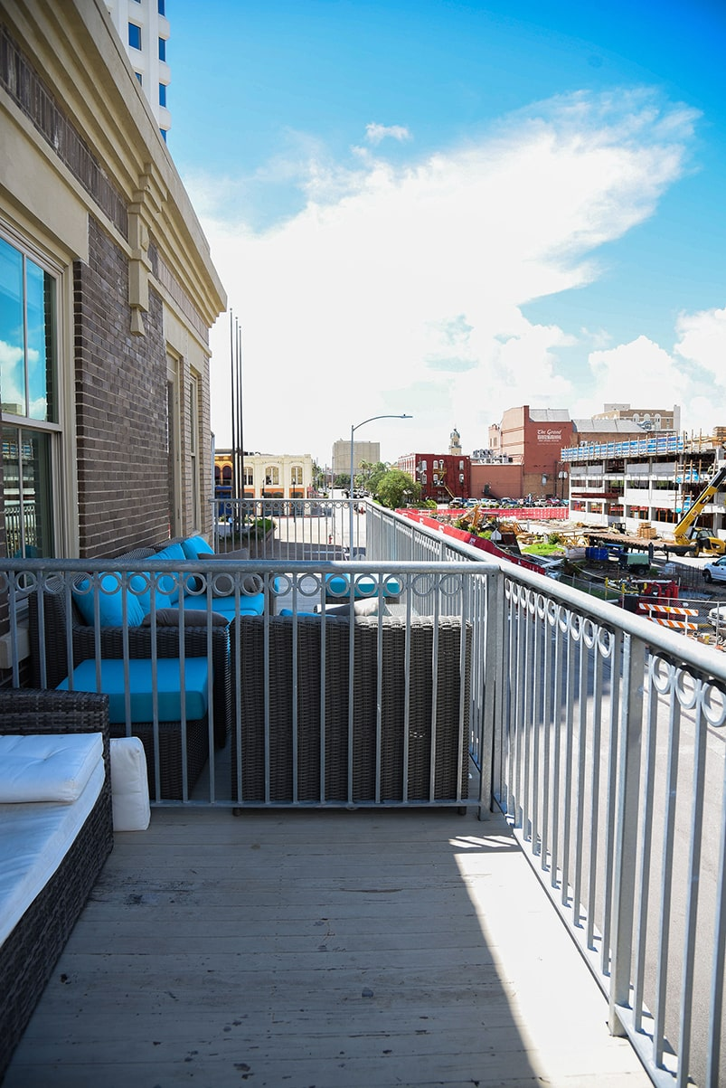 karam lofts galveston deck