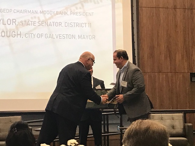 Jerome Karam Honored by The City Of Galveston