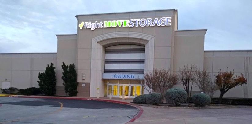 Ridgmar right move storage