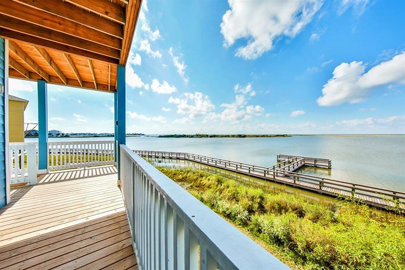 galveston bay house deck