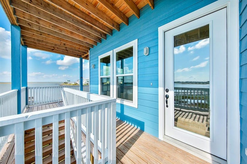 galveston bay house wrap around deck