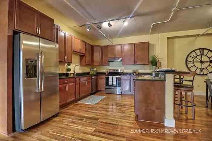 karam lofts lake charles kitchen 3