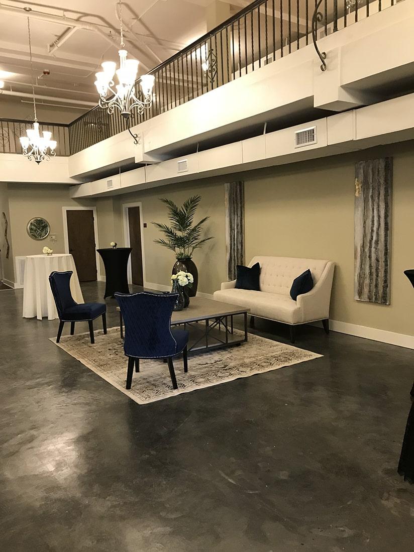 karam lofts lake charles lobby lounge