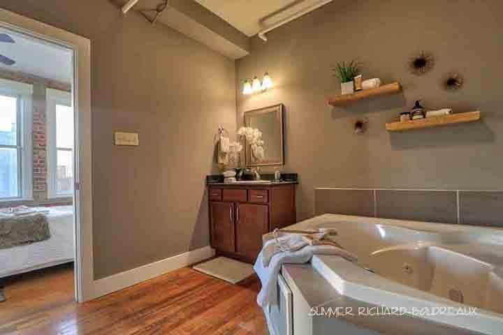 karam lofts lake charles master bath