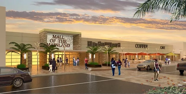 mainland city centre rendering