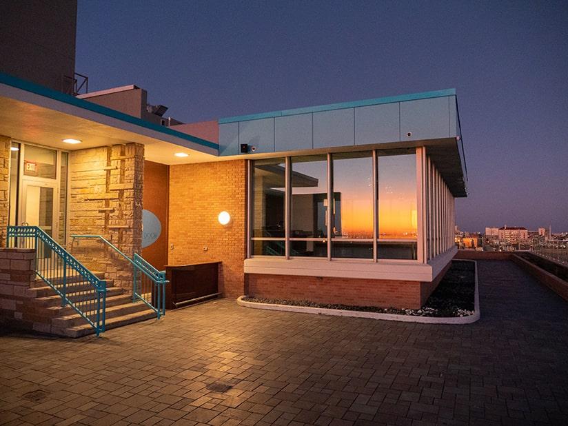 tasting room exterior building