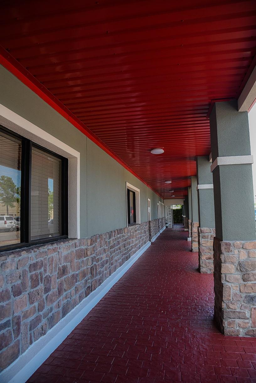 texas station walk way