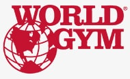 world gym logo