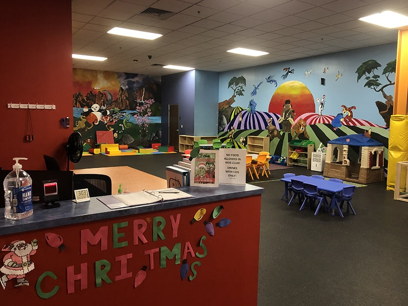 world gym texas city kids area
