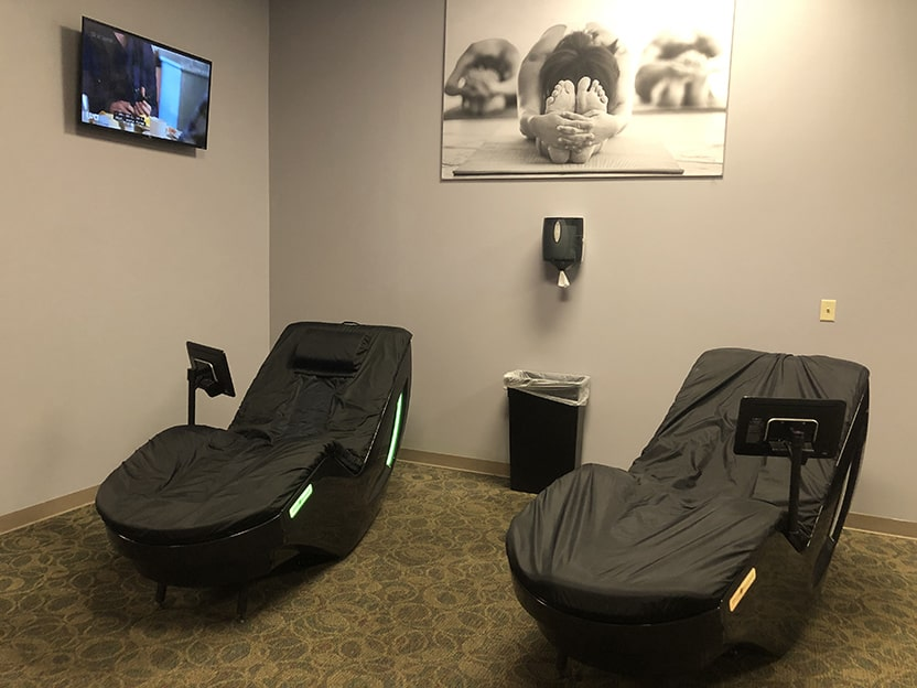 world gym texas city relaxation room