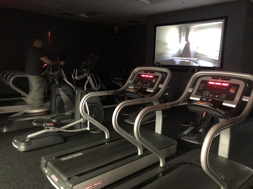 world gym texas city treadmills